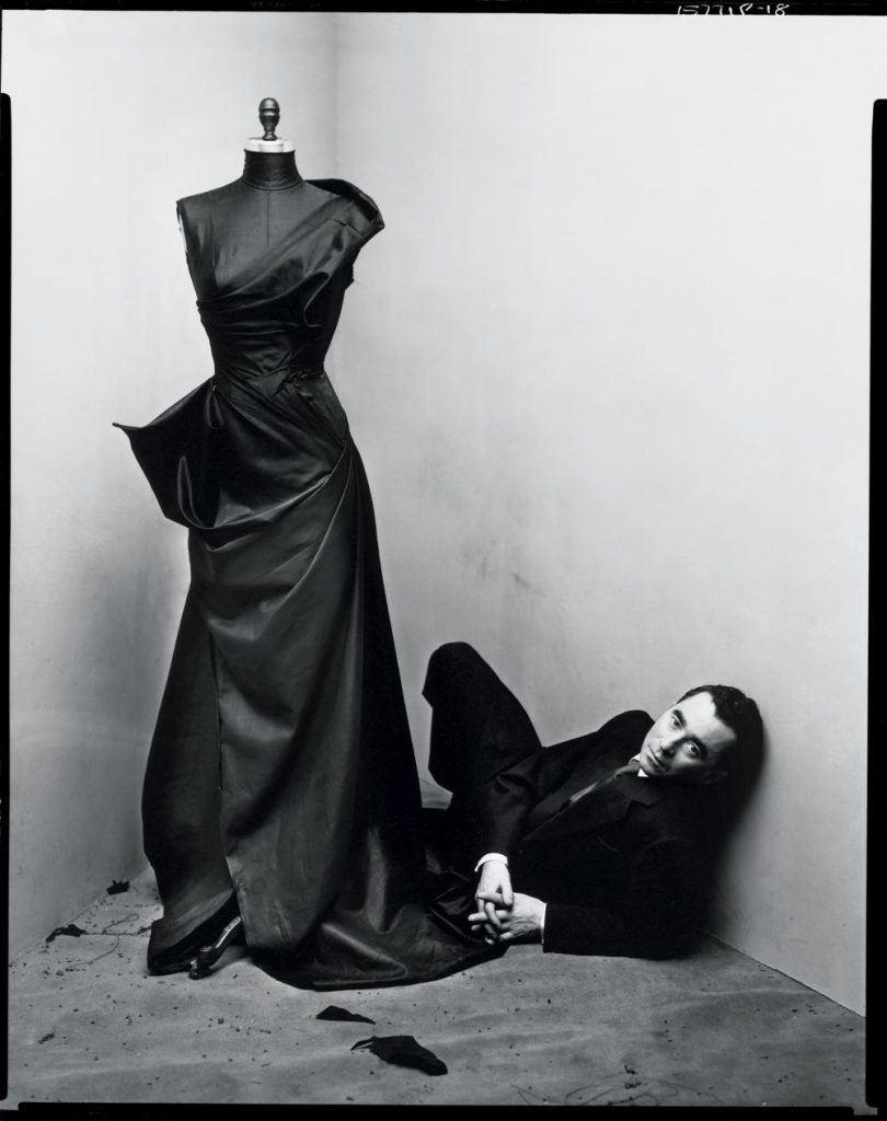 Charles James by Irving Penn. February 28th, 1948. © The Irving Penn Foundation