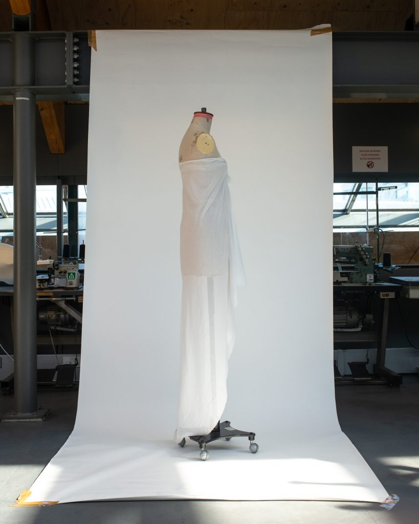 Halston toile. Image by Liam Leslie for Exploding Fashion.
