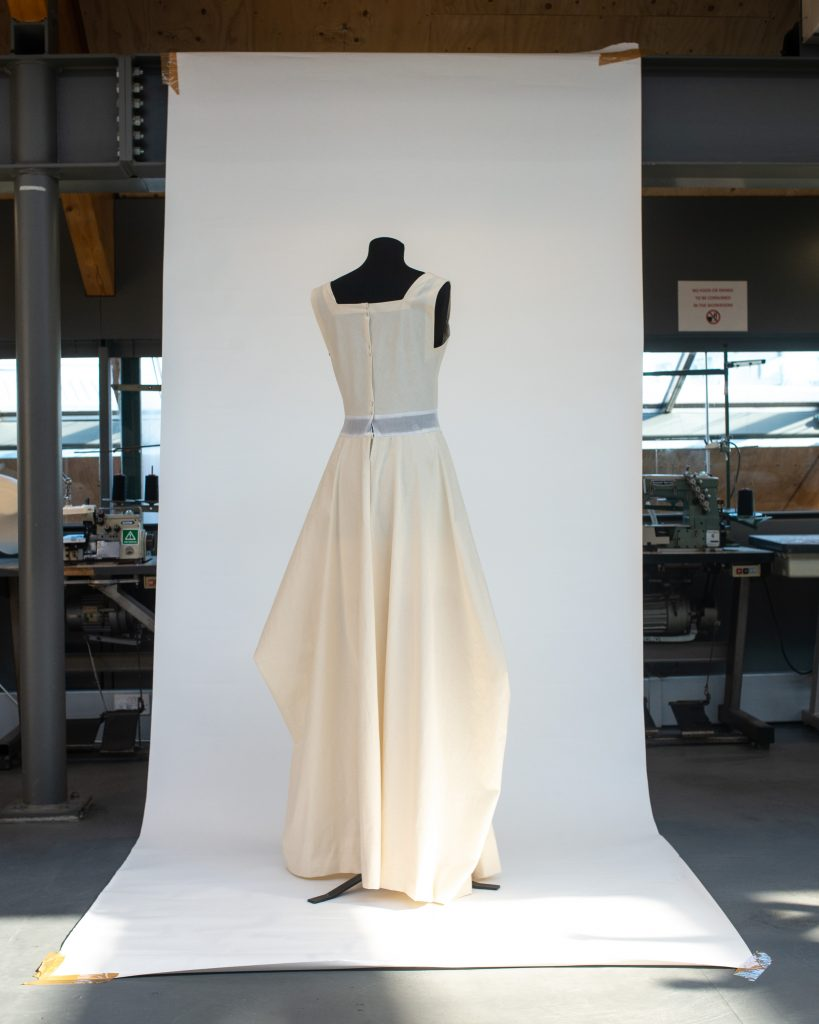 Charles James toile. Image by Liam Leslie for Exploding Fashion.