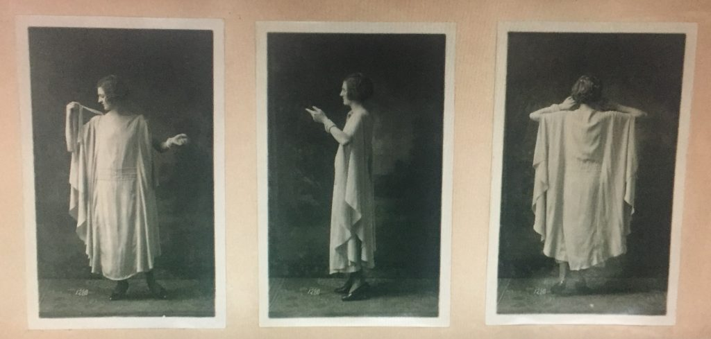 Archive photograph from the registration album, 1921. Photothèque, fonds Union Française des Arts du Costume, gift Madeleine Vionnet