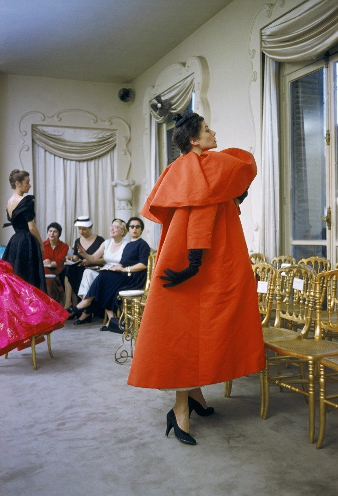 Balenciaga presentation, Paris 1954. © 2002 Mark Shaw