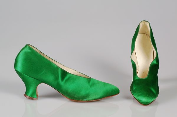 French shoes, ca. 1922. Brooklyn Museum Costume Collection at The Metropolitan Museum of Art