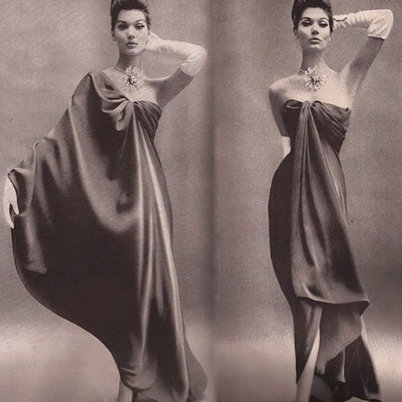 Balenciaga dress, c.1960.