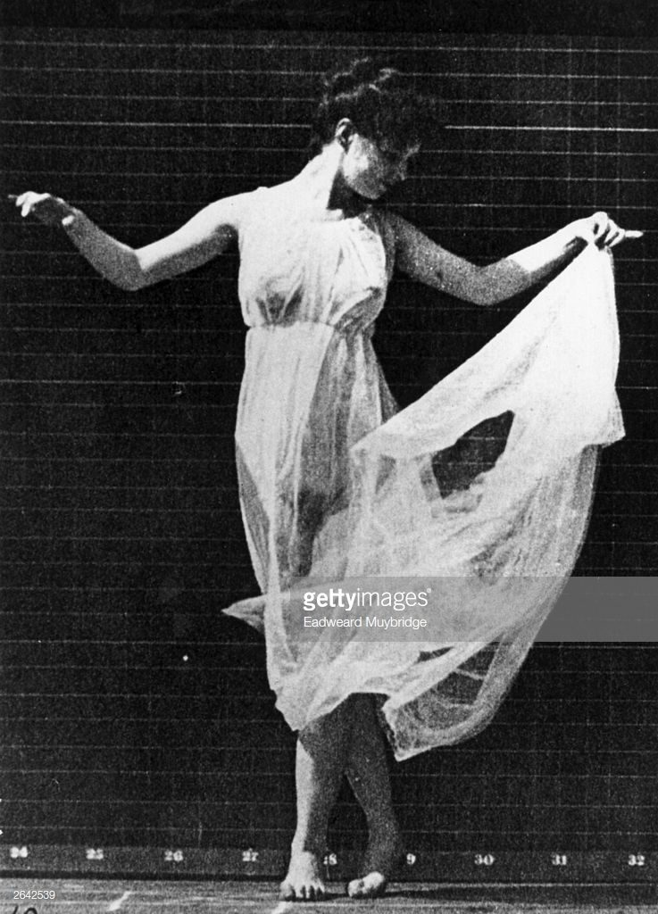 Isadora Duncan, 1900. © Eadweard Muybridge/Getty Images