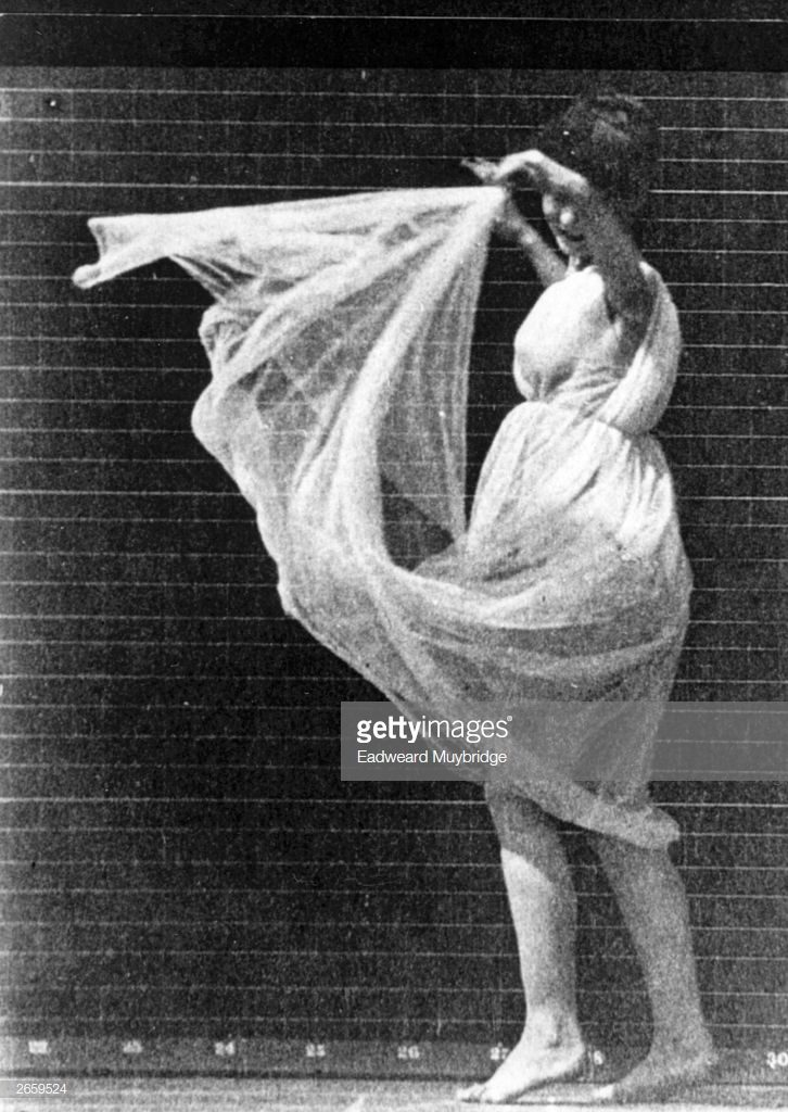 A study of dancer Isadora Duncan, 1900. © Eadweard Muybridge/Getty Images