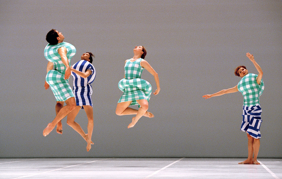 'Scenario', choreographed by Merce Cunningham with costumes by Rei Kawakubo, 1997